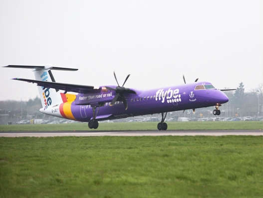 Flybe lands at Heathrow Airport | Aviation