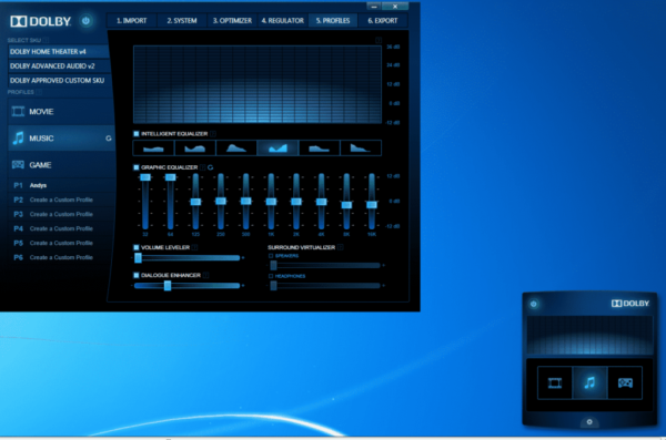 Come installare Dolby Home Theater V4 su Windows 7,8,10