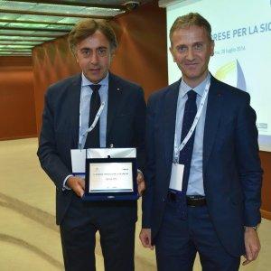 Giuseppe Lasco, Terna vince Premio Sicurezza promosso da Confindustria e INAIL
