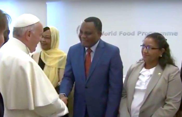 Papa Francesco inaugura la Sessione Annuale 2016 del Programma Alimentare Mondiale