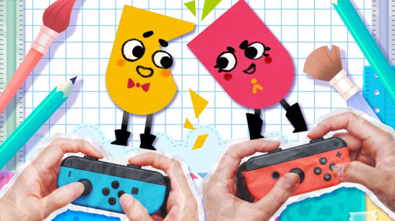 Snipperclips: il divertente puzzle game in arrivo su Nintendo Switch