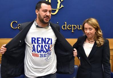 Sono rimaste solo due forze politiche a Destra: Lega - F. d'Italia