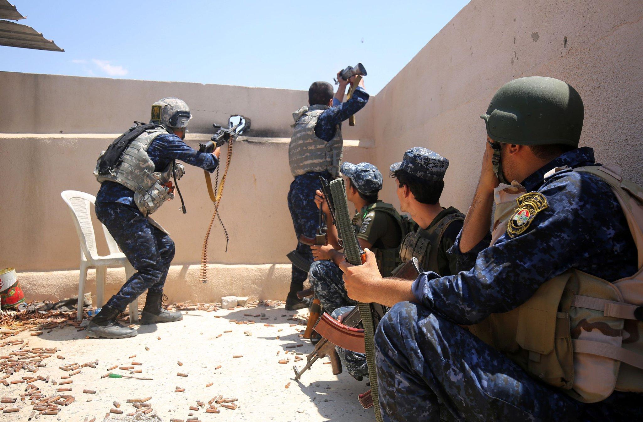 Iraq: Le forze irachene iniziano assalto sulla città vecchia di Mosul » Guerre nel Mondo