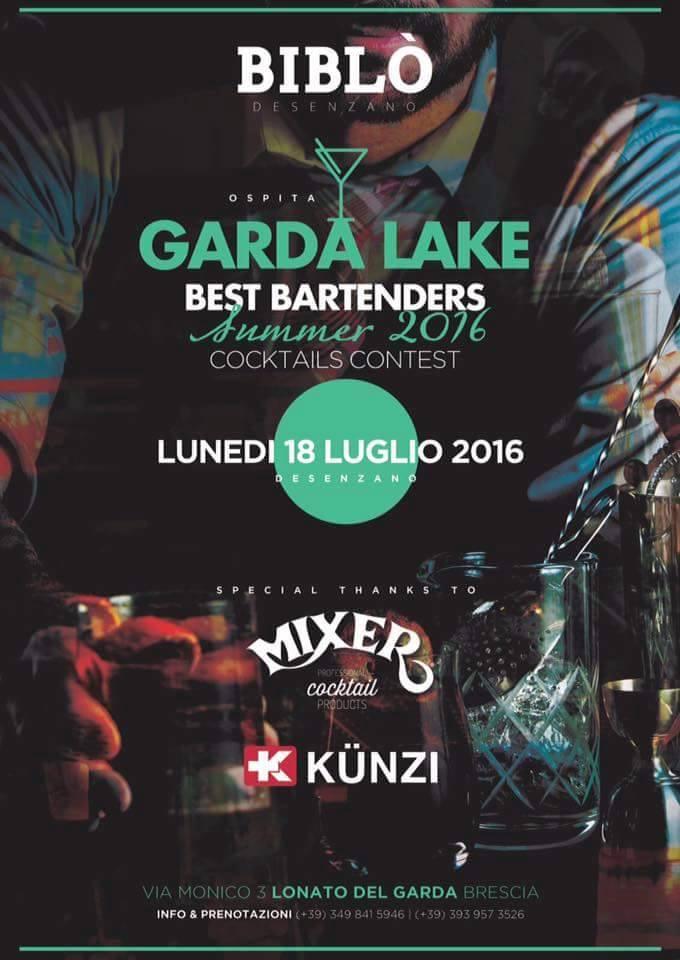 Il Lunedì Notte - Biblò Desenzano: 18/7 presenta Bar Contest