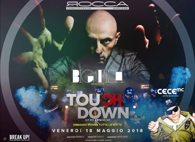 Touch Down Ibiza fa scatenare La Rocca di Arona (NO) con Big Fish