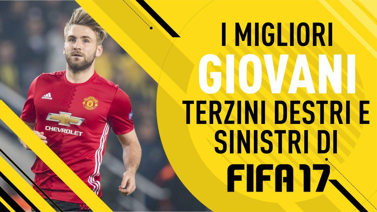 Terzini Destri e Terzini Sinistri: i migliori giovani di Fifa 17