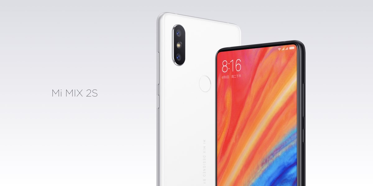 Xiaomi Mi Mix 2S: ripropone il design del Mi Mix 2 (e di iPhone X) ma con tante novità interessanti