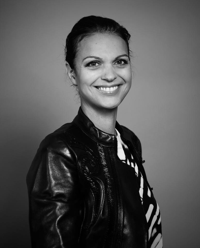 La Giornalista televisiva e Direttrice Generale d'UniFrance Isabelle Giordano al Tiff42