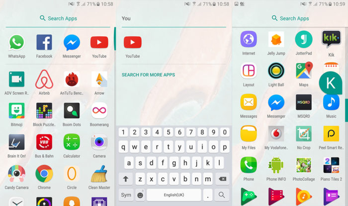 Scarica e installa il nuovo Launcher Android 7.0 Nougat