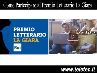Dalla Rai il Premio Letterario La Giara - Ecco tutti i dettagli per chi vuole partecipare