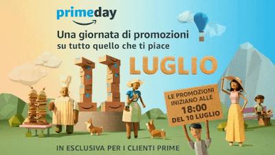 10 Luglio 2017: Amazon Prime Day al via per il terzo anno consecutivo