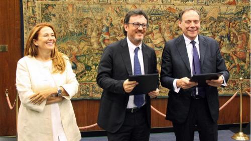 Rai France Tv siglato accordo alla presenza di Monica Maggioni e Mario Orfeo