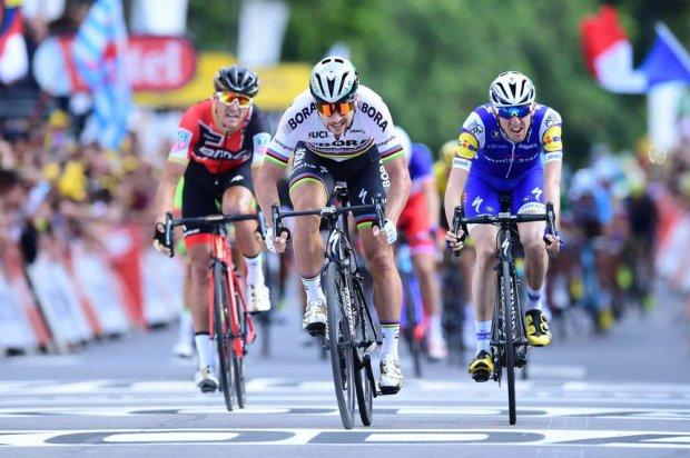 Tour de France 2017 Tappa 3, highlights: Peter Sagan illumina una tappa poco entusiasmante