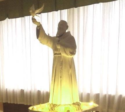 Ad Ogliastro, nel Cilento, vogliono costruire un Padre Pio alto 85 metri