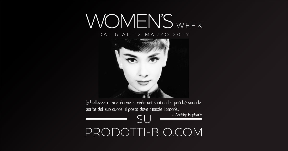 Women's Week: celebriamo la donna