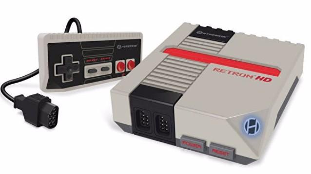 RetroN HD, Mini NES non ufficiale compatibile con cartucce originali