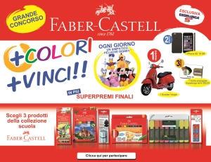 Concorso Faber-Castell Più colori più vinci in collaborazione con Esselunga