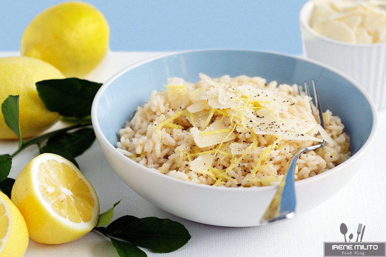 Ricetta per risotto allo zenzero limone e menta