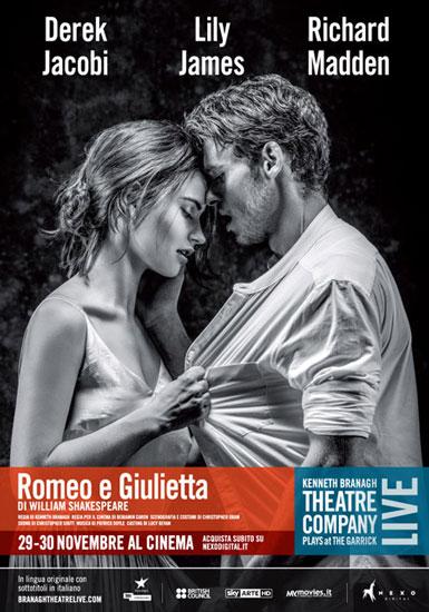 Romeo e Giulietta diretto da Kenneth Branagh oggi al cinema