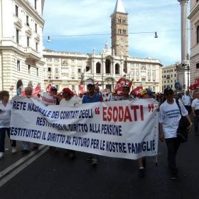 Pensioni e lavoratori esodati: intervista del 10 novembre a Francesco Fiore