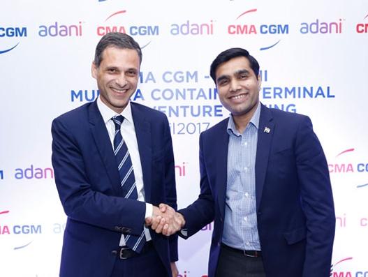 CMA CGM & Adani Ports form JV to run Mundra Port's new container terminal | Shipping
