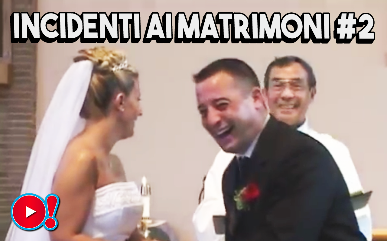 Speciale San Valentino: Incidenti divertenti ai matrimoni (Compilation)