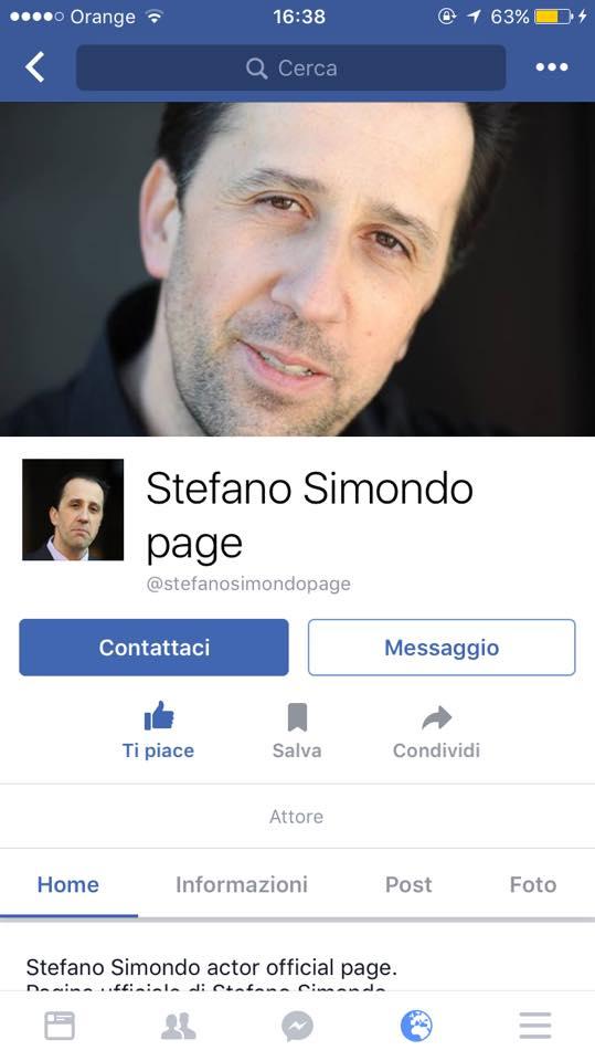 Viaggia spedita verso quota 10.000 la pagina Facebook di Stefano Simondo